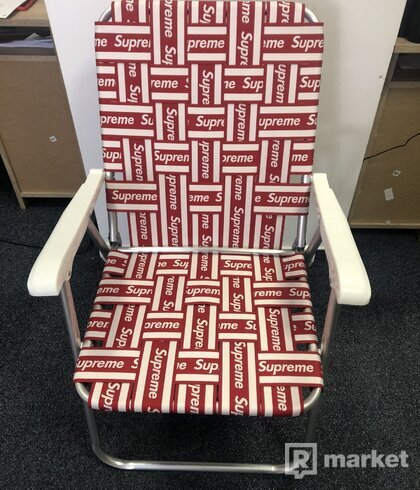 Supreme Lawn Chair Red (SS20)