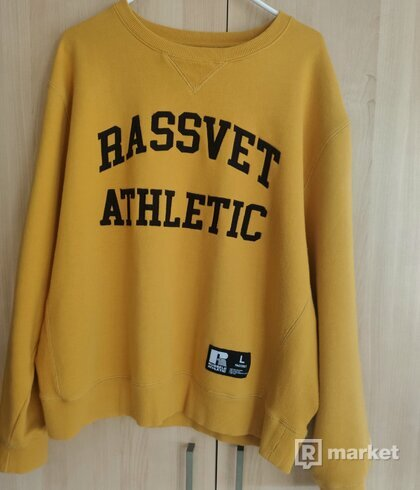 PACCBET X RUSSEL ATHLETIC crewneck