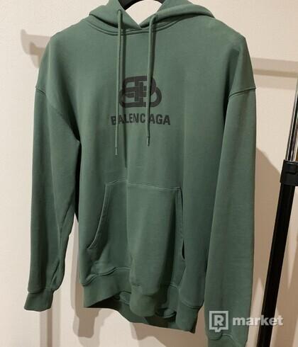 Balenciaga BB Green Hoodie