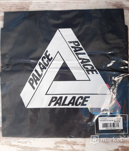 Palace tri-ferg colour blur tees