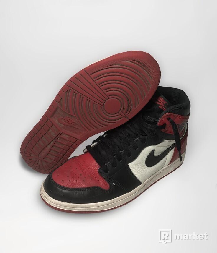 Jordan 1 Bred Toe