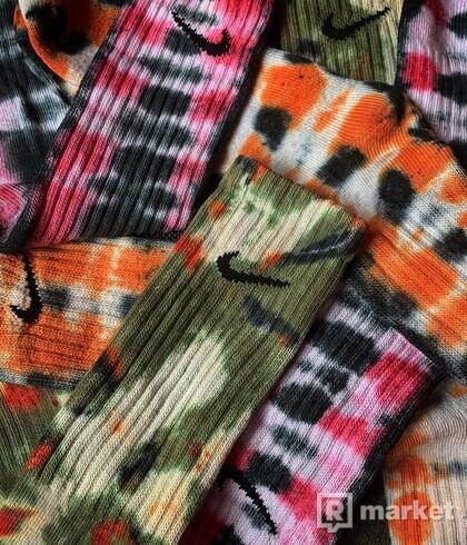 Nike batikované ponožky