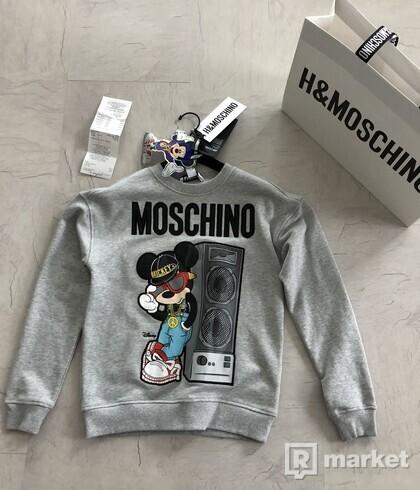 Mikina Moschino x H&M veľ. XS
