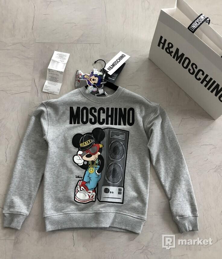 b92b7d237c65 Mikina Moschino x H M veľ. XS