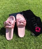 PUMA FENTY by RIHANNA dámske šlapky - ružové