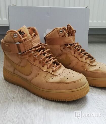 """Nike Air Force 1 High """"Flax Gum"""""""