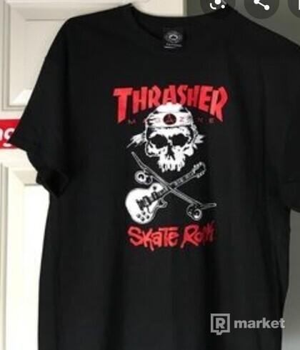 Thrasher skate rock tee