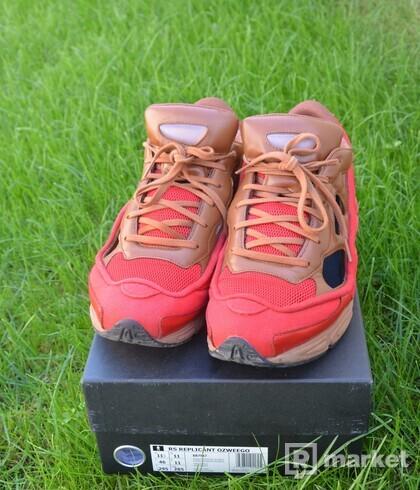 adidas RS Replicant Ozweego Raf Simons Scarlet Dust