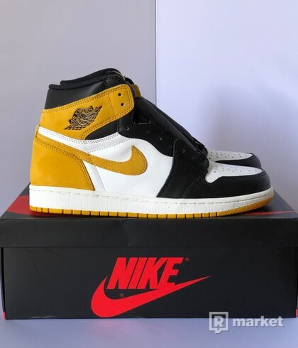Air Jordan 1 / Yellow Ochre - Best hand in the game