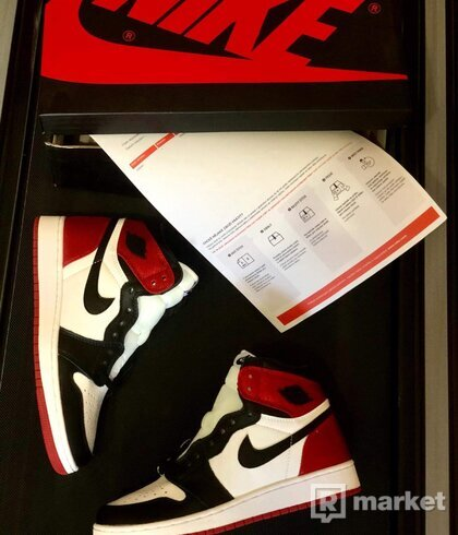 Air Jordan Satin Black Toe - 37,5
