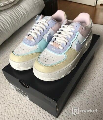 Nike Air Force 1 Shadow White Glacier Blue Ghost