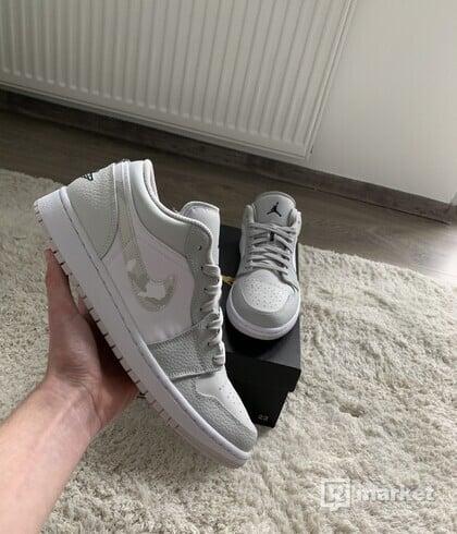 Air Jordan 1 Low White Camo