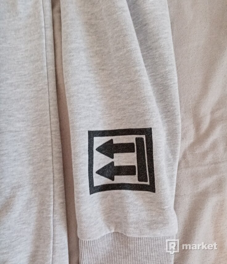 Nike Off-White Sweater Grey
