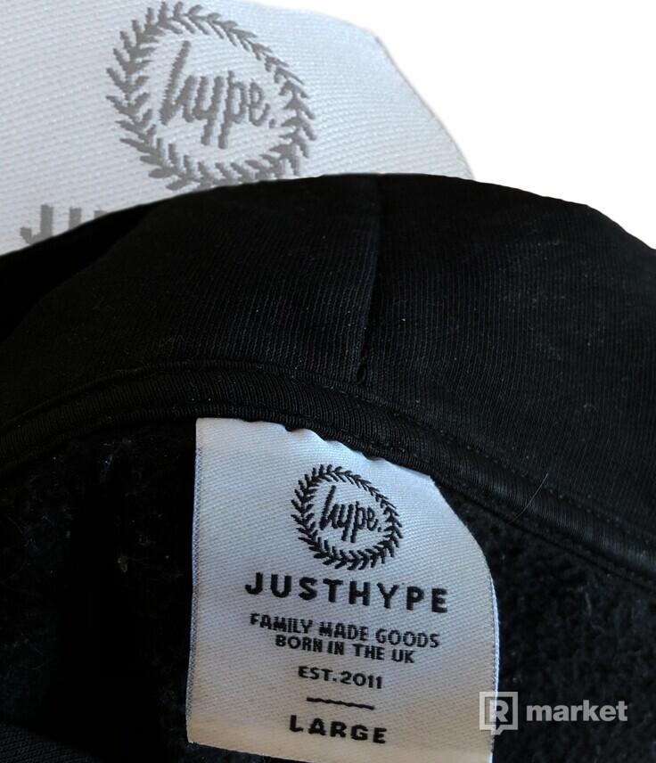 Hype Tape Sleeve Black Hoodie