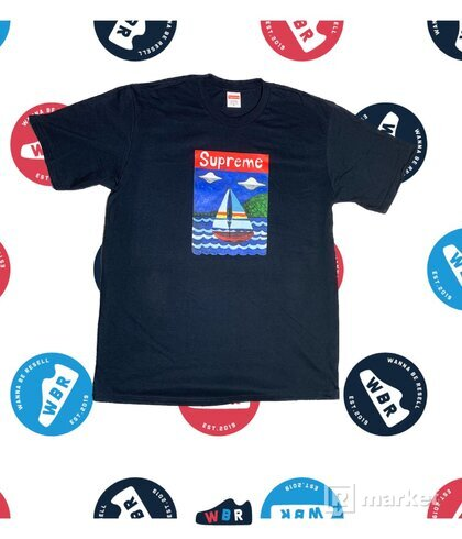 SUPREME Supreme Sailboat Tee