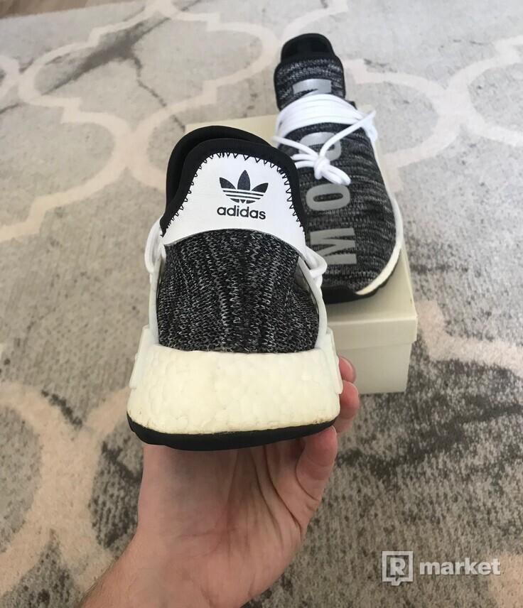 Adidas x Pharrell NMD HU Human Race Trail Oreo
