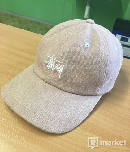 Stussy washed stock low pro cap
