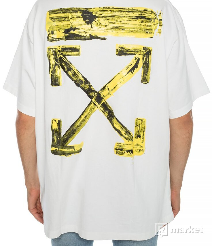 Off White Logo Printed T shirt