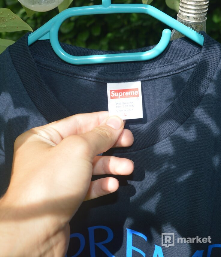 Supreme Nuova York Tee Navy