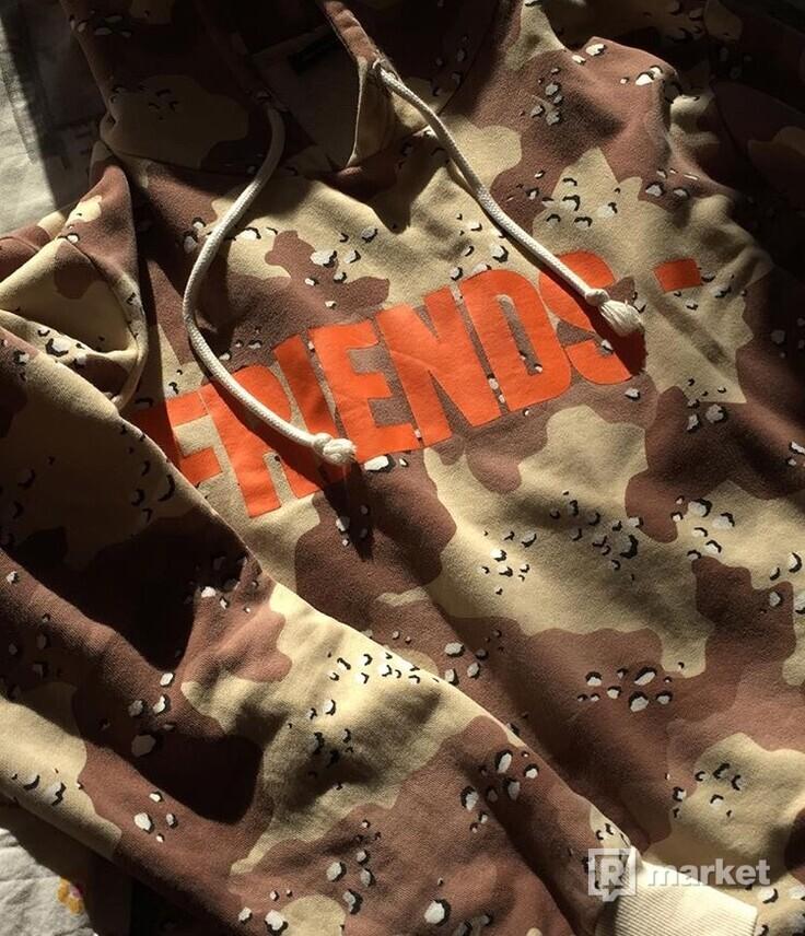 vlone friends desert camo hoodie