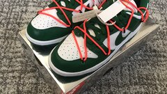 Nike Dunk Off White Green