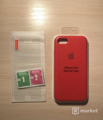 Kryt+ochranné sklo Apple iPhone 7/8
