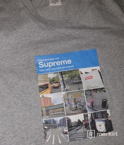 Supreme verify tee