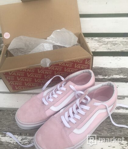 Vans old skool (Chalk Pink) 36.5