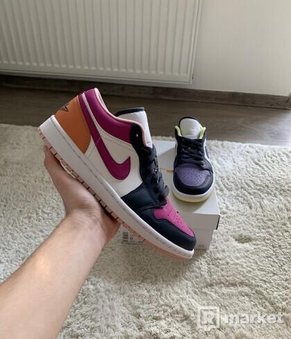 Air Jordan 1 Low Purple Magenta