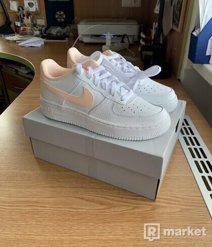 Nike Air Force 1 Low White / Orange