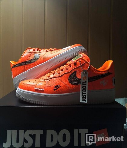 "Air Force 1 Just Do It Pack ""Orange"""