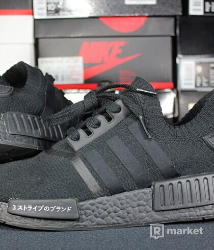 "Adidas NMD R1 Primeknit ""Japan Triple Black"""