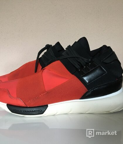adidas Y3 Qasa High Red Black