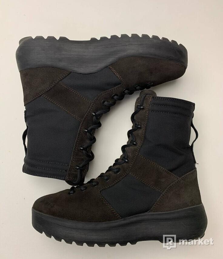 Yeezy Season 3 Onyx Black boots