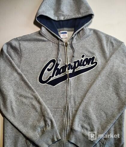 Champion zip-up hoodie