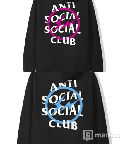 ASSC x Fragment Bolt hoodies