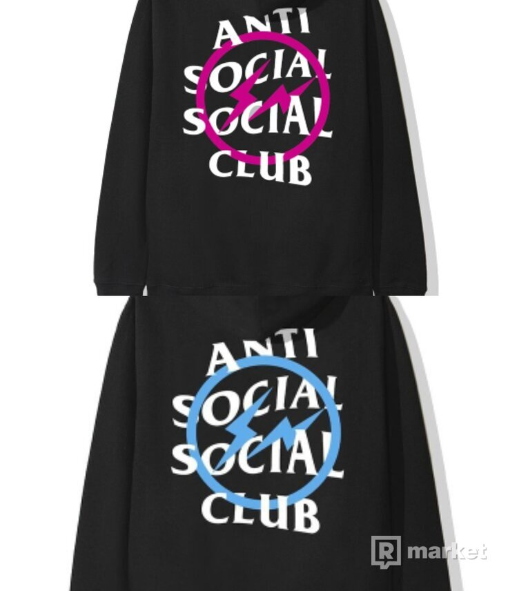 ASSC x Fragment Bolt hoodies