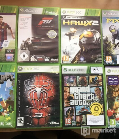 Hry na Xbox 360