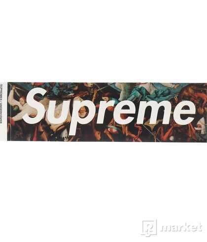 SUPREME SAMOLEPKY / STICKER UNDERCOVER ANGELS