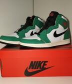 Jordan 1 Retro High Lucky Green