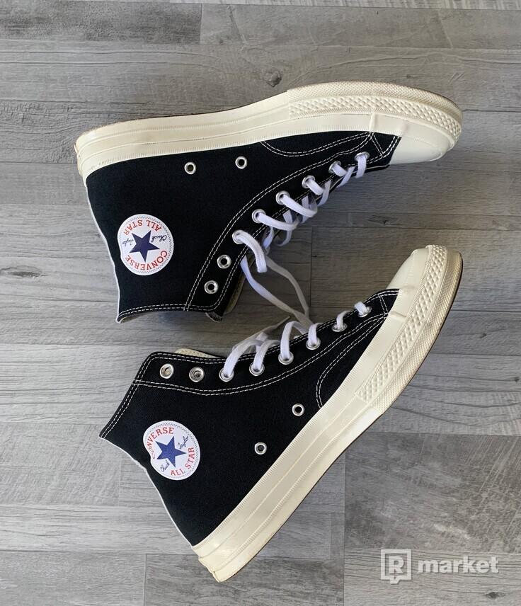 Converse Chuck Taylor All-Star  70s Hi Comme des Garcons PLAY Black