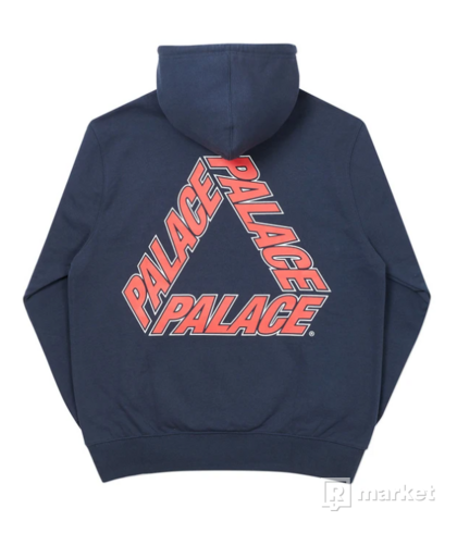 Palace P3 Team Hoodie size L Navy
