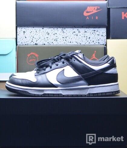 "Nike Dunk Low ""Retro White Black"" (worn)"