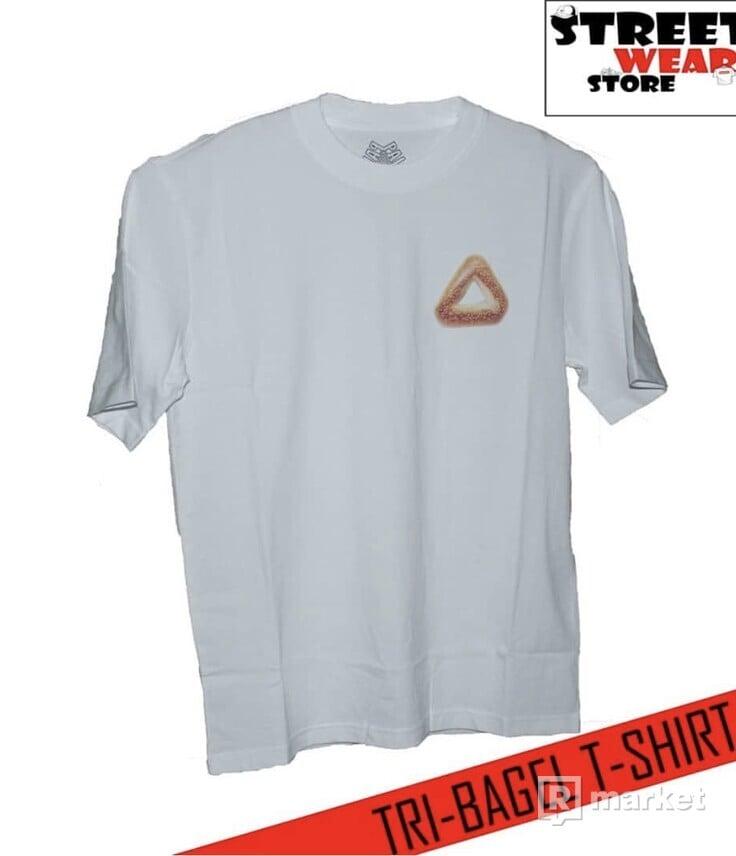 Palace TRI-BAGEL T-Shirt White