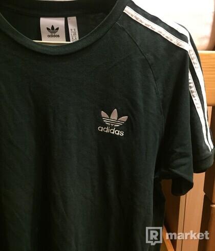 Adidas striped tee