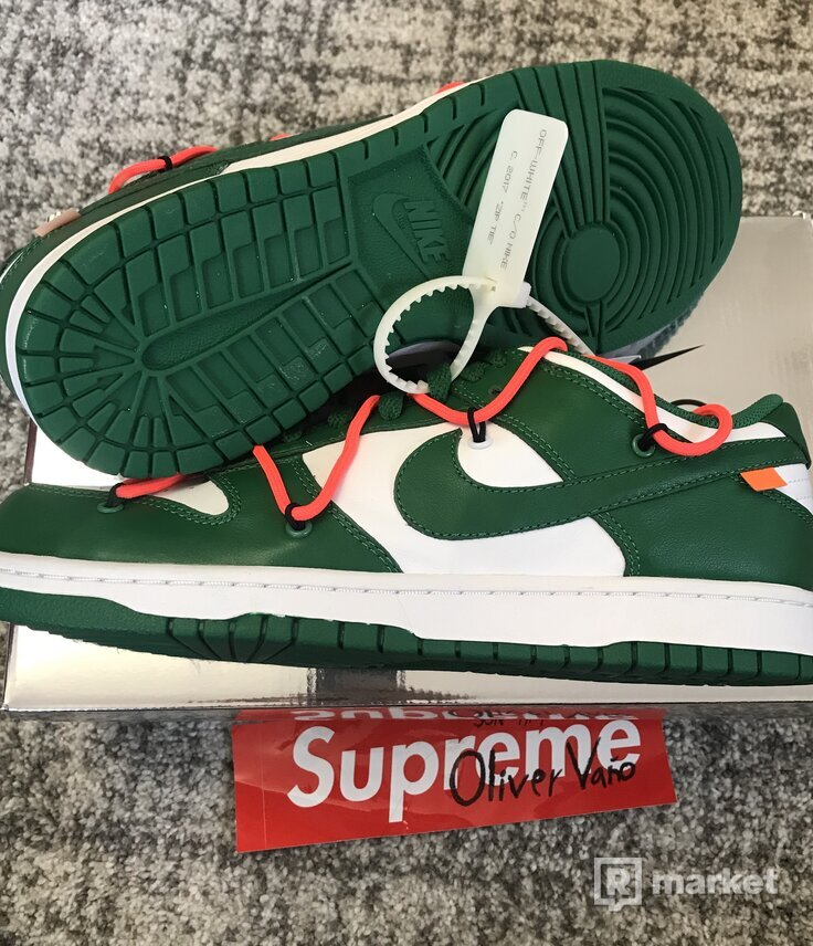 Nike Dunk Off White Green