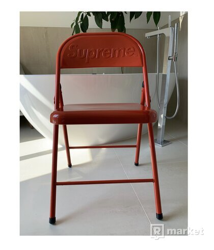 "Supreme Metal""Folding Chair Red"""