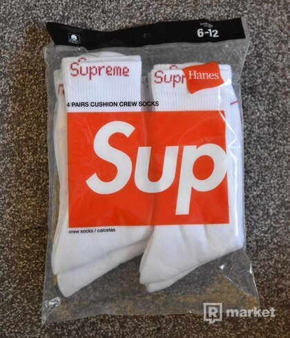 Supreme Hanes Socks
