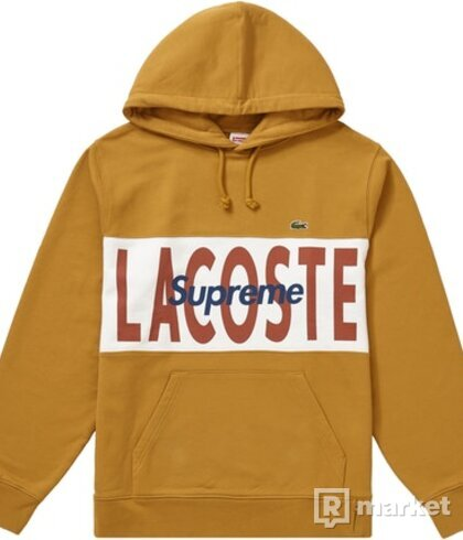Supreme X Lacoste hoodie