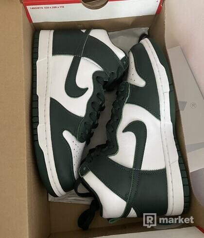 Nike Dunk High Spartan Green US9.5, US10, US10.5